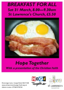 Breakfast at Saint Lawrence, Hungerford @ St Lawrence's Church | England | United Kingdom