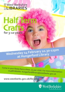 Half Term Crafts at Hungerford Library @ Hungerford Library