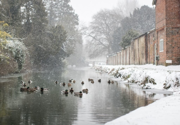 Hungerford in the Snow