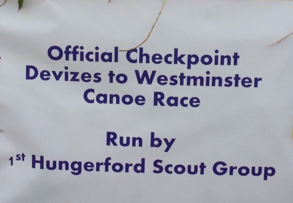 Hungerford Scouts & the Devizes to Westminster Canoe Race