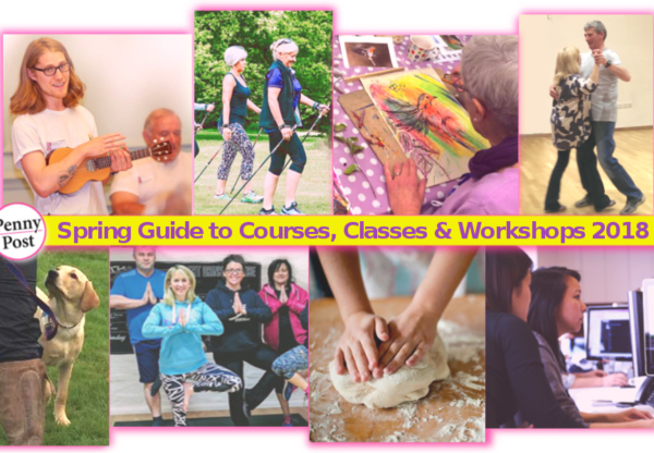 Spring Guide to Courses, Classes and Workshops 2018