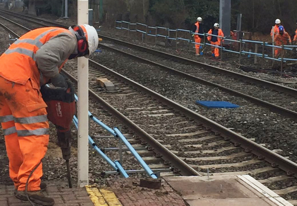 Work on local railways to prepare for electrification
