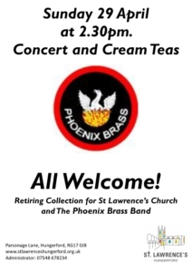 Brass Band Concert @ St Lawrence's Church   England   United Kingdom