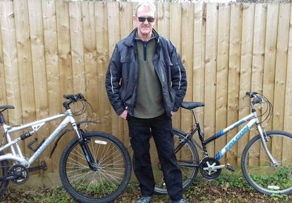 Bike Appeal for West Berkshire's Rough Sleepers