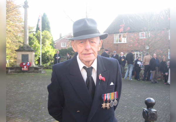 World War Two Veteran William Bailey