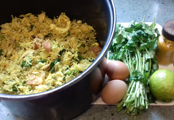 Dad's Kedgeree