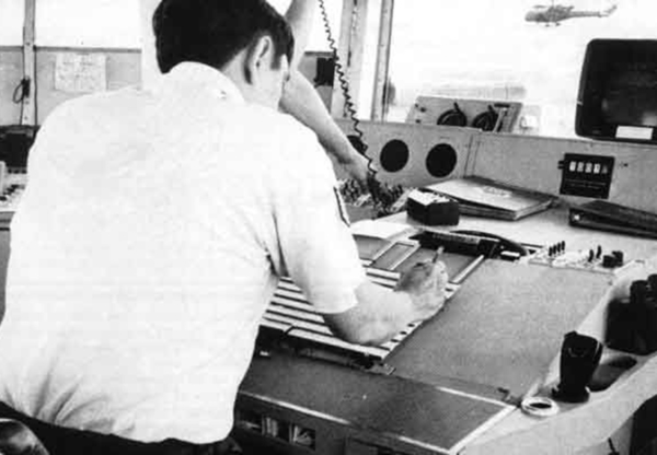 Search for Greenham Control Tower Desk