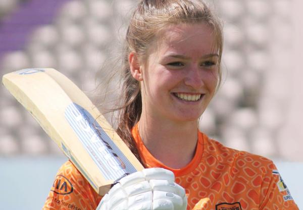 Rising Cricket Star Lauren Bell