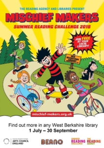 Summer Reading Challenge 2018 @ All West Berkshire Libraries | England | United Kingdom