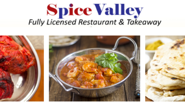 Special Offers from The Spice Valley in Lambourn