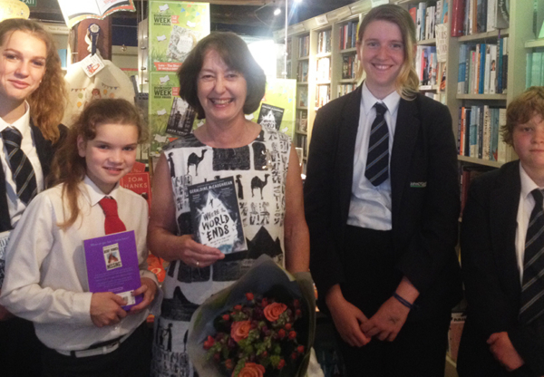 Local Author Geraldine McCaughrean Wins Top Awards