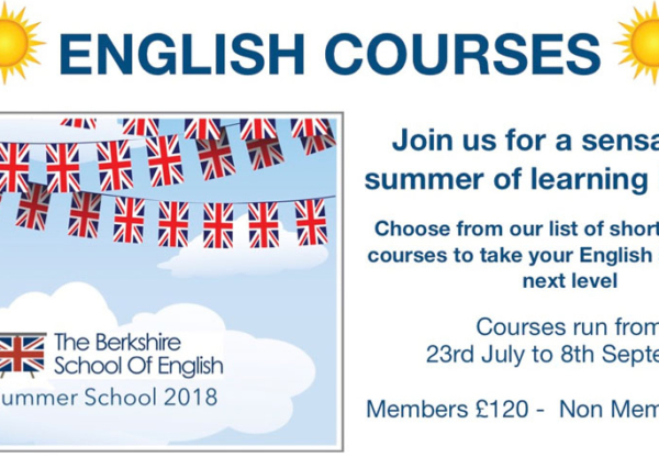 Summer 2018 Courses at The Berkshire School of English