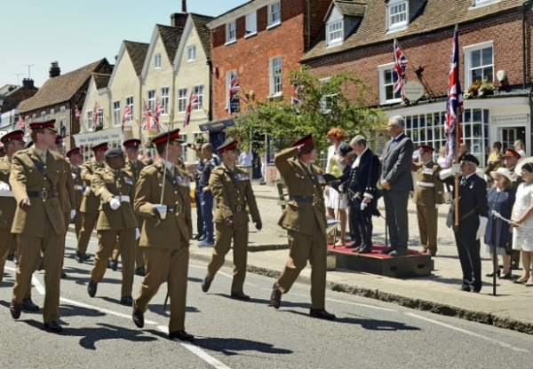Hungerford Armed Forces Parade