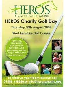 Heros Charity Golf Day @ West Berkshire Golf Course | England | United Kingdom