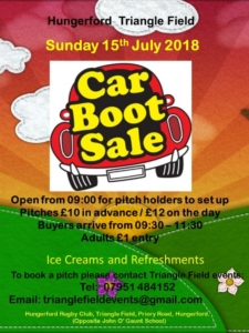 Hungerford Car Boot Sale @ Triangle Field