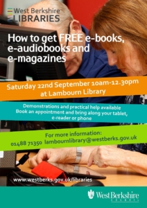 Learn how to download FREE E-books @ Lambourn Library @ Lambourn Library | Lambourn | England | United Kingdom