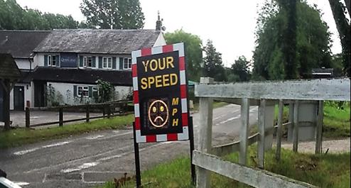Speedwatch in East Garston