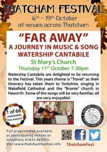 Far Away – a journey in music and song @ St Mary's Church | England | United Kingdom