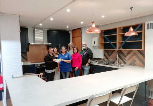 Hungerford Youth and Community Centre receives donation from kitchen supplier