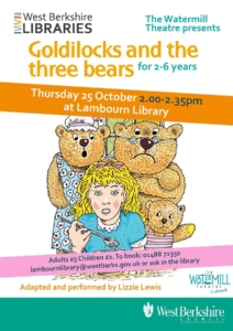 Goldilocks and the three bears @ Lambourn Library @ Lambourn Library | Lambourn | England | United Kingdom