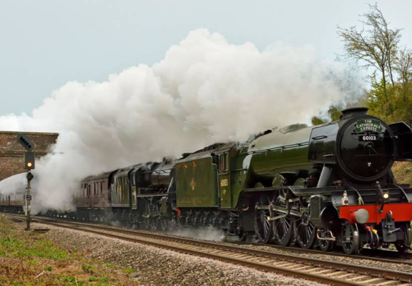 Our Competition Winners on The Flying Scotsman