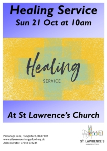 Healing Service @ Saint Lawrence Church | England | United Kingdom