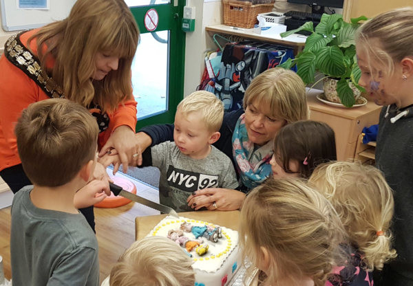 Hungerford Nursery School turns 76