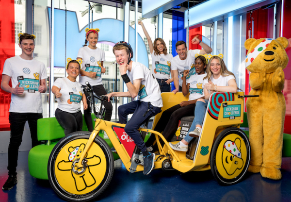 Support the BBC Children in Need Rickshaw Challenge