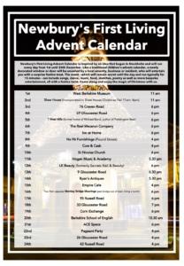 Newbury's First Living Advent Calendar @ Newbury | Newbury | England | United Kingdom