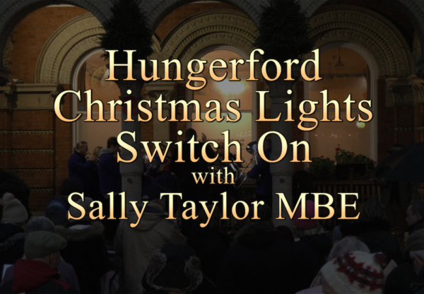 Hungerford Christmas Lights Switch On 2018