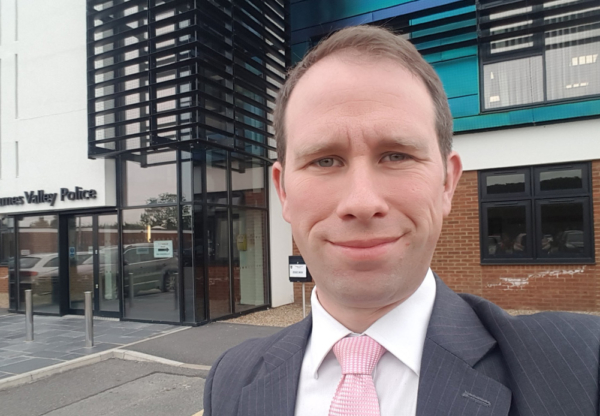 Interview with Matthew Barber, Deputy Police and Crime Commissioner for the Thames Valley