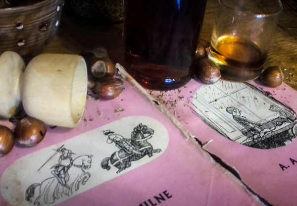 In Which We Discover What Winnie-the-Pooh and Piglet Do in the Evenings
