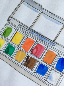 Open the box! Watercolours for beginners @ Hungerford Hub & Library | England | United Kingdom