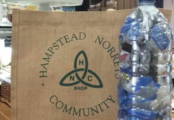 Hampstead Norreys Community Shop's Eco-Brick Initiative