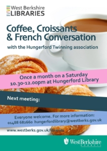 Coffee and Croissants @ Hungerford Library @ Hungerford Library | England | United Kingdom
