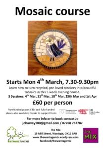 Mosaic course @ The Mix, Wantage | England | United Kingdom