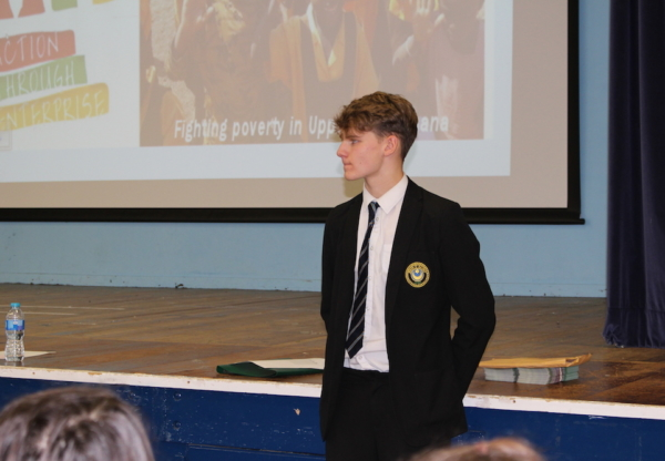 John O'Gaunt School Supports Charity in Ghana