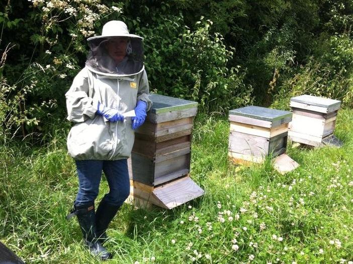 Jan Doyle & hives