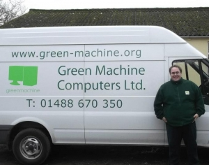 Simon Green Machine van