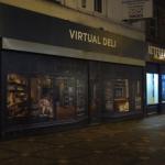 Mock shop fronts in Swindon