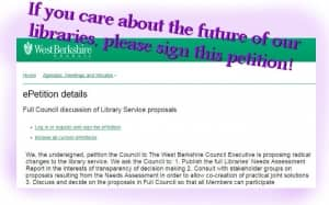 WB library petition