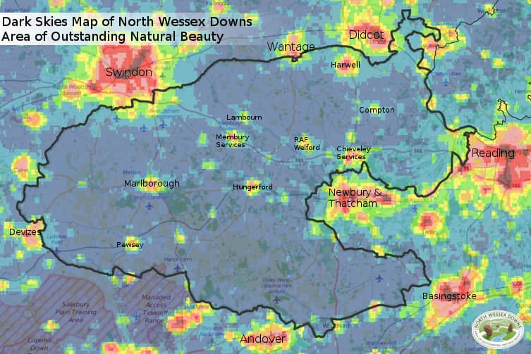 Local Dark Skies in the North Wes Downs AONB - Penny Post on