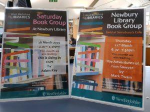Newbury Library Book Group - Thursday @ Newbury Library   England   United Kingdom
