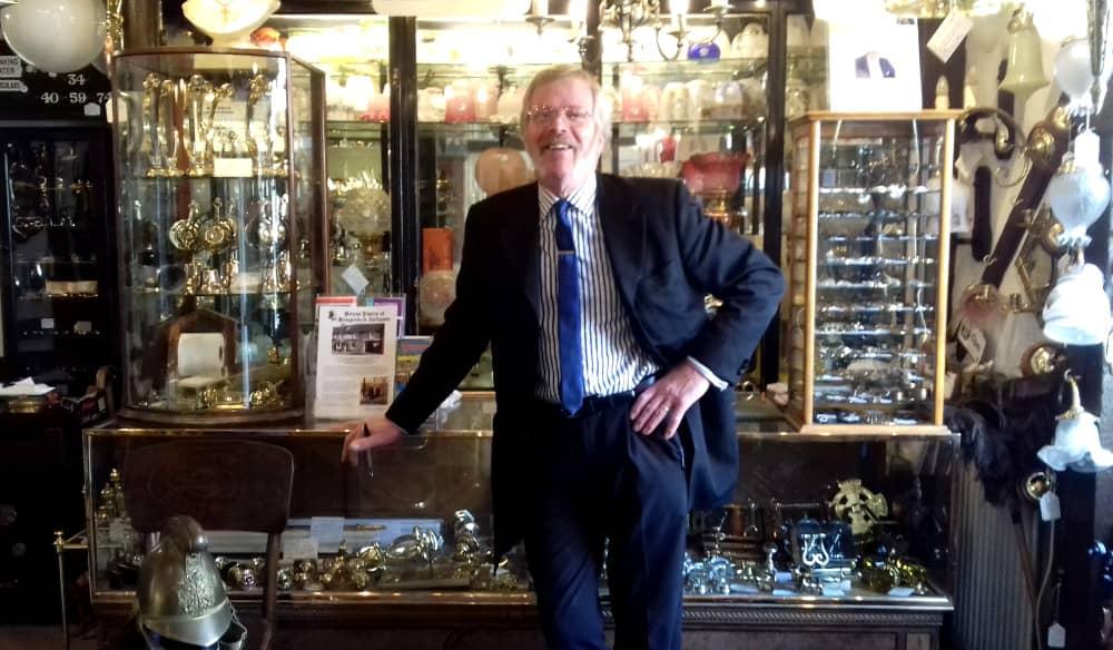 Interview with Stewart Hofgartner, Hungerford Antique Dealer - Penny Post
