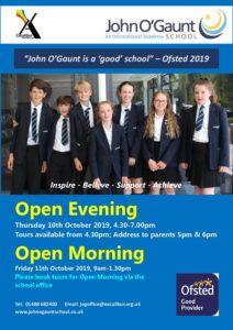 Open Evening John O'Gaunt @ John O'Gaunt School | England | United Kingdom