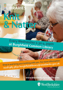 Knit & Natter @ Newbury Library | England | United Kingdom