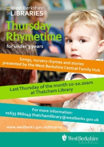 Thursday Rhymetime @ Thatcham Library @ Thatcham Library | England | United Kingdom