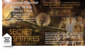 The Secret Spitfires @ Marlborough Town Hall | England | United Kingdom