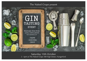 Craft Gin Tasting at The Naked Grape @ The Naked Grape | England | United Kingdom