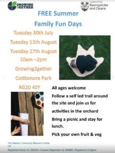 Growing Together - Summer Family Fun Days @ Growing Together | United Kingdom
